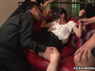Mika Shindo is punished with toys and she squirts