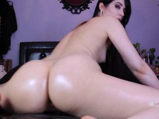 male feet fetish Brookelynne Briar - Oiled Ass Worship JOI, femdom on fetish porn