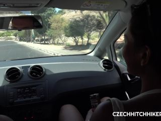 Czech HitchHickers - Chloe Lamour!!!