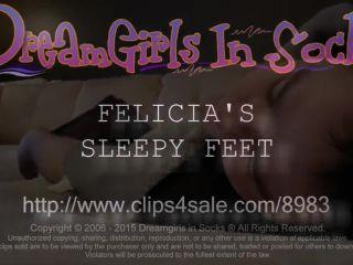 Sleepy Feet - DreamgirlsInSocks (HD 2020)
