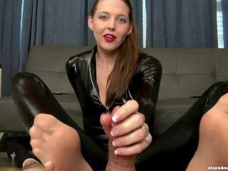 Stinky – Bratty Babes Own You – Secret Agent Sadie Holmes Footjob Interrogation