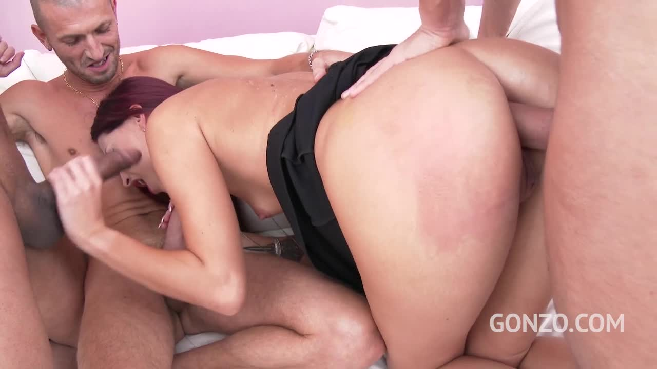 Lyen Parker first time to Gonzo with rough DP & Double pussy SZ1873 / 19.09.2017