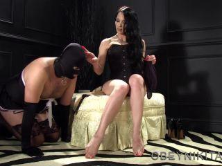 Obey Nikita - Mistress Nikita - Spanking The Maidboi!!!