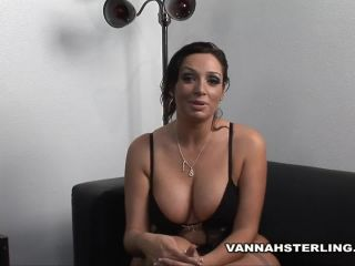 Vannah Sterling Casting for new Male Talent Fucks Lucky Fan on Vacation.