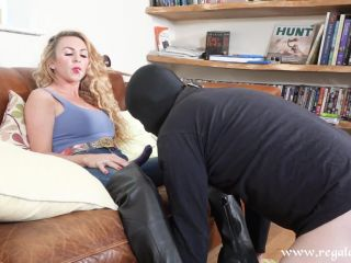 """A DEEP DICKING"" (1080 HD) (BRITISH FEMDOM, PEGGING, STRAPON, ASS FUCKING, DILDO GAGGING, MILF DOMINATION)"