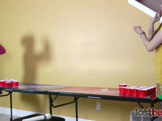 Lost bets productions - Strip Beer Pong with Amber and Belle
