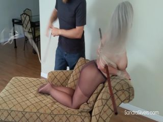 amirah adara femdom Sandra Silvers – Buxom MILF Endures Being Put in a Neck-breaker Hogtie, milf on milf porn