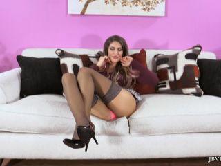 cara brett hardcore femdom porn   AUGUST AMES' NYLON LAYERS TEASE   hd videos