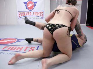 EvolvedFights – Cheyenne Jewel vs Will Havoc - mixed fight on femdom porn