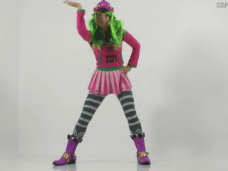 Zoey cosplaying in Pussy Royale