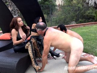 Porn online THE MEAN GIRLS – Efficient Uses Of Slaves. Starring Princess Bella and Princess Carmela [Smoke, Human Ashtray, Cigarette, Smoking] femdom
