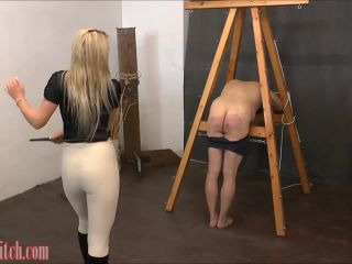 Fullforce Spanking  Final bout of cruelty. Starring Miss Carter