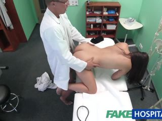 doctor examines cute hot sexy patient with his cock