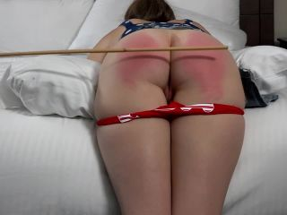 Assume the position studios - Your Naughty Bottom Broke My Cane- Christy Bared and Caned to the Breaking Point HD