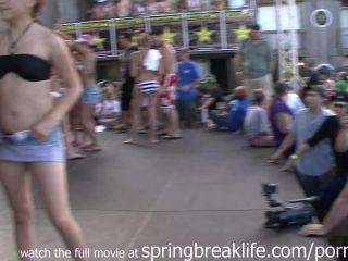 Porn Spring break party