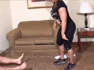 Iron Belles Muscle Addiction - Muscle Foxx - Monster Muscle Power   scissors   femdom porn