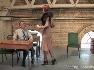 The English Mansion – A Study in Onanism – Complete Movie. Starring Domina Liza