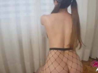 Perfect Teen Ass in fishnet, Yoga At Home, Sex on the