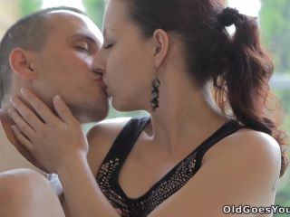 Ilona - Beautiful girl gets fucked by a horny old man, her boyfriend c ...