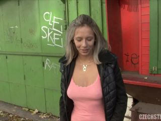 Czech Streets - Busty shop assistant Alena