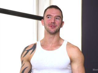Muscular Straight Boy Edged in Bondage!!!