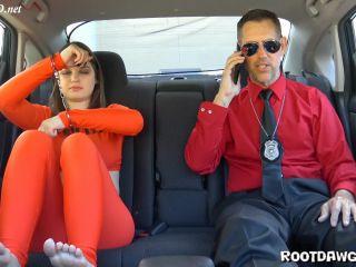 Anastasia Rose in Prison Transfer Footjob
