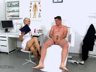 Zita M - CFNM sex at sperm bank clinic with Czech MILF Zita