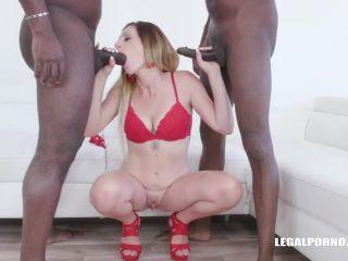 Porn tube Online Video Nina Angel – (LegalPorno) – Keeps enjoying black cocks IV339 double penetration
