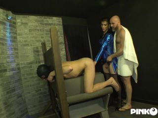Victoria Carvalho Enjoys With Two Men (14 May 2020)