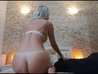 Natalie: Blue Balls For You | boobs | femdom porn hairy fetish