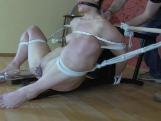 The chair and the penetration 1 - male domination - bdsm porn julie simone femdom