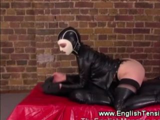 Domina helps herself to her gimps cock