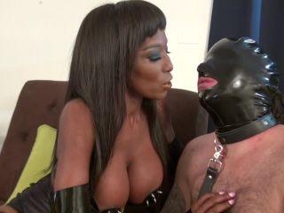 Mistress Adina - Houseboy Serves Her Well