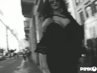 Online shemale video The first time of the incredible Raphaella Ferrari