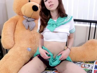 Bunnie Hughes - Ageplay Dad Fucks Schoolgirl Daughter
