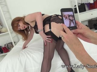 Lady-Sonia presents Lady Sonia in Sonia And Red Photo Fun | lady-sonia | mature porn