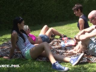 Pryscilla Lopez, Louna Vasseur, Amelie Pucycat - FFFM Countryside picnic for three hotties will turn into anal foursome outdoor [HD 720p], porno extreme anal on french girls porn