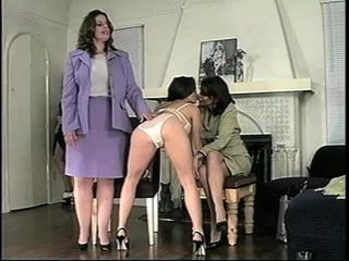 Spanking - The Girls Plugged and Whipped