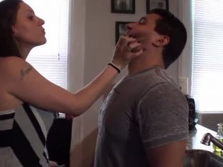 Online femdom video Meggerz - Dirty Mouth Soaping