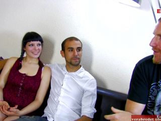 Spanish couple has hot amar sex in front of an camera at a spanish porn casting