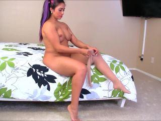 big booty femdom masturbation porn | Sandra Latina – Late Night Pantyhose Seduction | tease and denial