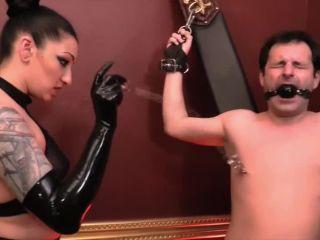 Cock and Ball Abuse Cybill Troy Veronica Vixen