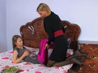 Pink Surprise. A hot  Beata Undine on femdom porn gym femdom