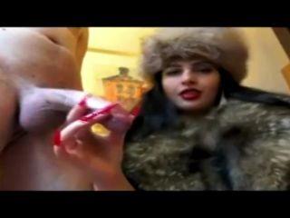 Ala nylon my girlfriend in fur hotpilation