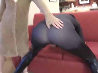 Stevie Rose,Riley Laroux - Riley Breaks in and gets Spanked Paddled Ca ...