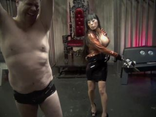 Latex Vacuum Bed – Asian Cruelty – BROKEN BY MY MERCILESS BULLWHIP – Mistress Gaia