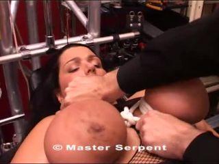 Torture Galaxy / TG2Club Dolly 01 - tit torture - bdsm porn bdsm slave girl