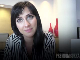 Porn online PremiumBukkake presents Sherry Vine in interview before bukkake