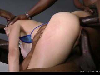 Mckenzie lee gangbanged and creampied by bbc!