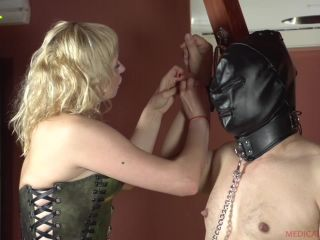 Milking – MEDICALY SADO – Mistress and Slave – Anna and El Turry